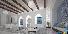 نمونه ها و توضیحات درباره طراحی مراکشی (Moroccan design)