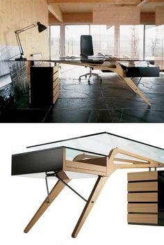 Столы от дизайнера Карло Моллино