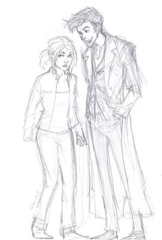 Doctor/Rose adorableness :) <3