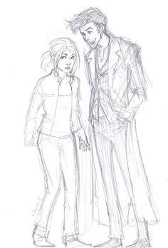 Doctor/Rose adorableness :) <3