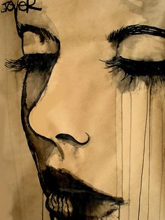 'a question of 'self' by Loui  Jover' - I have an artist who's work I truly enjoy.