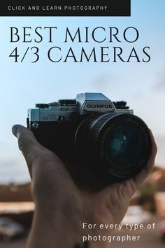With cutting edge technology, impressive image quality and a barely perceptible size and weight, some of the best Micro Four Thirds cameras make for surprisingly good professional cameras.  Whether you're a photographer or a videographer there's plenty to choose from. Click here to get our pick of the best Micro Four Thirds cameras out there.  #photography #photographygear #cameras #microfourthirds #photographytips Dslr Photography Tips, Wedding Photography Tips, Photography Tips For Beginners, Outdoor Photography, Photography Tutorials, Photography Business, Life Photography, Travel Photography, Best Professional Camera