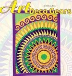 Free Art Deco Gears Pattern from a fave of mine, Robbi Joy Eklow! Love her steampunk-y, gearhead designs, and her palette!
