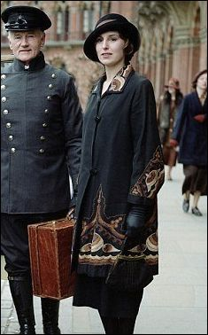 Here it is in Downton Abbey.  Post Edwardian - Modern Recycled Costumes
