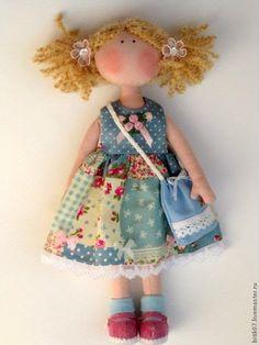 Venha para a minha sala ! : Bonecas e bichinhos de pano encantadores !