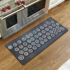 Vintage Typewriter Comfort Mat