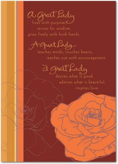 Mahogany: A Great Lady - Mother's Day Greeting Cards in Spanish Red | Hallmark