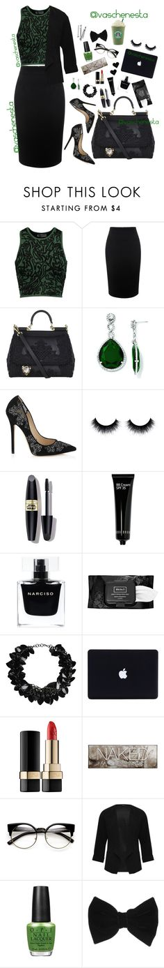 """""""Untitled #830"""" by loo0oove-16 ❤ liked on Polyvore featuring Opening Ceremony, Alexander McQueen, Dolce&Gabbana, Kevin Jewelers, Jimmy Choo, Max Factor, Bobbi Brown Cosmetics, Narciso Rodriguez, Kat Von D and First People First"""