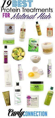19 Best Protein Treatments for Natural Hair via CurlyConnection.com