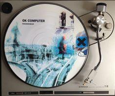 """Perfection Exist"" OK Computer vinyl - Radiohead - Thom Yorke"