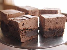 Mocha Brownies Recipe : Ree Drummond : Food Network - FoodNetwork.com.  These might have to be made this weekend for Super Bowl Sunday!