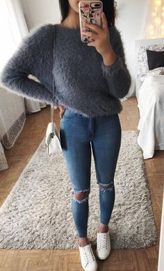 07183f4dab97e7 30+ Comfy Fall Outfits That Will Never Go Out Of Style