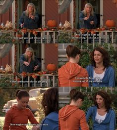 Of course something hysterical happens with Babette, Lorelai, and Rory. Could you expect anything less? <3