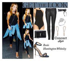 Rosie Huntington-Whiteley Drake Concert In L.A September.9.2016
