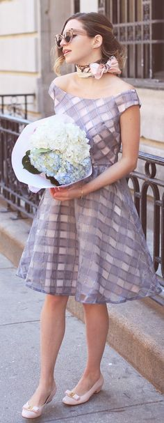 Bardot Dress Retro Style