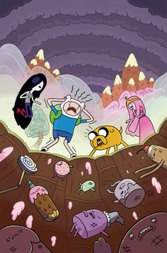 Adventure Time #4 (Cover A) by Chris Houghton