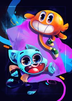 The Amazing World of Gumball on Behance