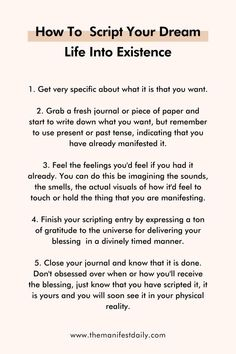 Spiritual Manifestation, Manifestation Journal, Spiritual Awakening, Positive Self Affirmations, Positive Quotes, Daily Journal Prompts, Therapy Journal, Vie Motivation, Law Of Attraction Affirmations