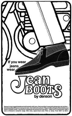 23 best retro menswear images vintage ads man fashion vintage Women Jeans vintage everyday retro shoe adverts 1960s 70s fashion graphic retro fashion