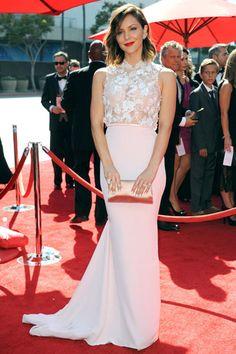 Katharine McPhee, 16 septembre 2013 | Fashion is Everywhere | Lolitta Dandoy