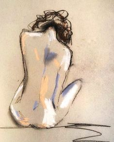 Nudie Fine Art Print — Mel Remmers Studio Source by bossraines. Figure Sketching, Figure Drawing, Fine Art Drawing, Drawing Poses, Art Drawings Sketches, Abstract Sketches, Abstract Art, Human Art, Art Abstrait