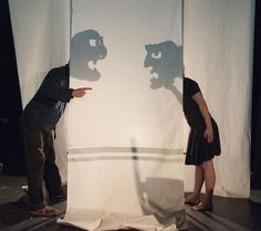 "Norwich Puppet Theater ""Puppets are our ancient alter egos, our storytelling selves"" KB Love this take on the shadow/human puppet"