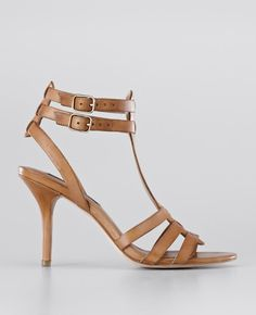 Ann Taylor - AT New Arrivals - Darcy Leather High Heel Sandals