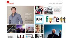 new Fasett identity & website featured on fontfont.com