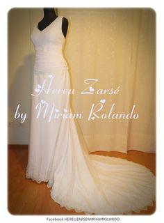 Vestido de novia https://www.facebook.com/miriamrolandoaltacostura