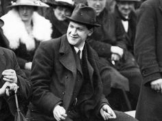 Michael Collins At The All-Ireland Final in Dublin During The Truce 1921