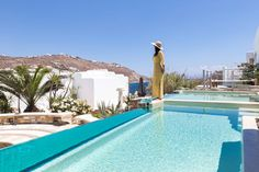 Kivotos Mykonos Hotel is a Luxury, Boutique, 5 Star hotel located in the Ornos area in Mykonos, Cyclades, Greece. Mykonos Hotels, Private Pool, Beach Club, Luxury Travel, Luxury Lifestyle, Greece, Travel Photography, Luxury Suites, Vacation