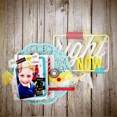 Lauren Hender - Jot Magazine Using Flutterby Flair, Project Life Cut & Photo Cut-outs. http://alittlepeekatme.blogspot.com.au/