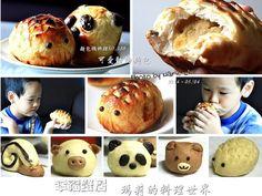 麵包機料理:可愛的動物麵包食譜、作法 | 瑪莉的料理世界的多多開伙食譜分享