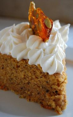 The clear alternative…. Pumpkin Financier(cake , usually with ground nuts)