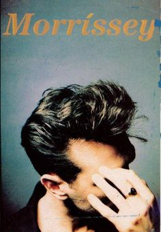 Morrissey at Compton Terrace (Marissa got band's autographs on a paper napkin at the Point South Mountain afterwards) and in Sun City (which was odd) New Wave Music, My Music, The Smiths Morrissey, Whatever Forever, Johnny Marr, Charming Man, Film Music Books, Glam Rock, My Favorite Music