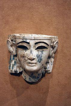 Head of a man    Period: Neo-Assyrian  Date: ca. 9th–8th century B.C.  Geography: Mesopotamia, Nimrud (ancient Kalhu)  Culture: Assyrian