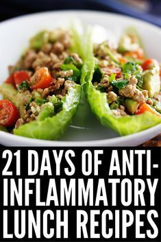 21 Day Anti Inflammatory Diet for Beginners Looking for an anti-inflammatory meal plan to help boost your immune system and keep your autoimmune disease under control while also helping you to lose weight? We've put together a meal plan for begin Detox Recipes, Healthy Recipes, Snack Recipes, Paleo Smoothie Recipes, Gout Recipes, Dukan Diet Recipes, Crohns Recipes, Recipes Dinner, Healthy Drinks