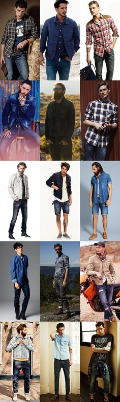 Men's Workerwear Outfit Inspiration Lookbook