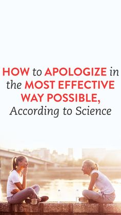How To Apologize In The Most Effective Way Possible, According To Science