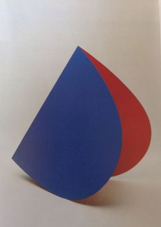 "Elsworth Kelly ""Blue Red Rocker"" 1963"
