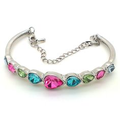 Multi-Colour Bracelet: Usually bracelets are designed and constructed in a single colour and metal. But the latest trends have made designers to use a variety of colours while making bracelets.