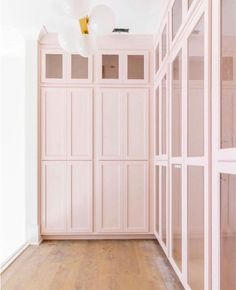 Our Little Girl's Dreamy Nursery Design Inspo – Laundry Room İdeas 2020 Pink Closet, Closet Colors, Closet Built Ins, Built In Bookcase, Girl Bedroom Designs, Nursery Design, Design Room, Girls Bedroom, Design Design