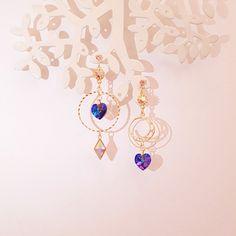 Ear Jewelry, Cute Jewelry, Bridal Jewelry, Jewelery, Kawaii Accessories, Jewelry Accessories, Fashion Accessories, Jewelry Design, Fancy Jewellery