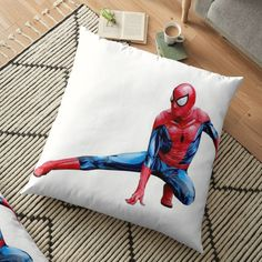 Floor Pillows, Bed Pillows, Spiderman Action Figure, Canvas Prints, Art Prints, Action Figures, Classic T Shirts, My Arts, Printed