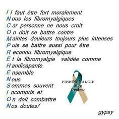 fibro hurts in French