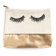 Eyelash Gold Leather Makeup Bag Cosmetic Pouch Lashes Makeup Bag Eyelashes Cosmetic Bag Gold Leather Bag Bride Bag Pencil Pouch Gold Bag by sweetwaterdecor on Etsy https://www.etsy.com/listing/455154458/eyelash-gold-leather-makeup-bag-cosmetic
