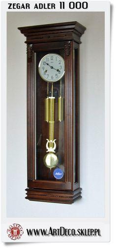 duży zegar mechaniczny Adler