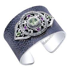 Silver Goddess Cuff Bracelet