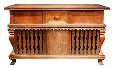 Mesa Altar-Gallinera/Kitchen Cabinet, c. 18th century (Narra and Molave)