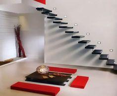 Les escaliers suspendus